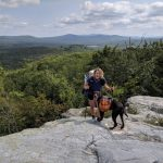 Photo of a girl - how to thru hike with a dog on the appalachian trail