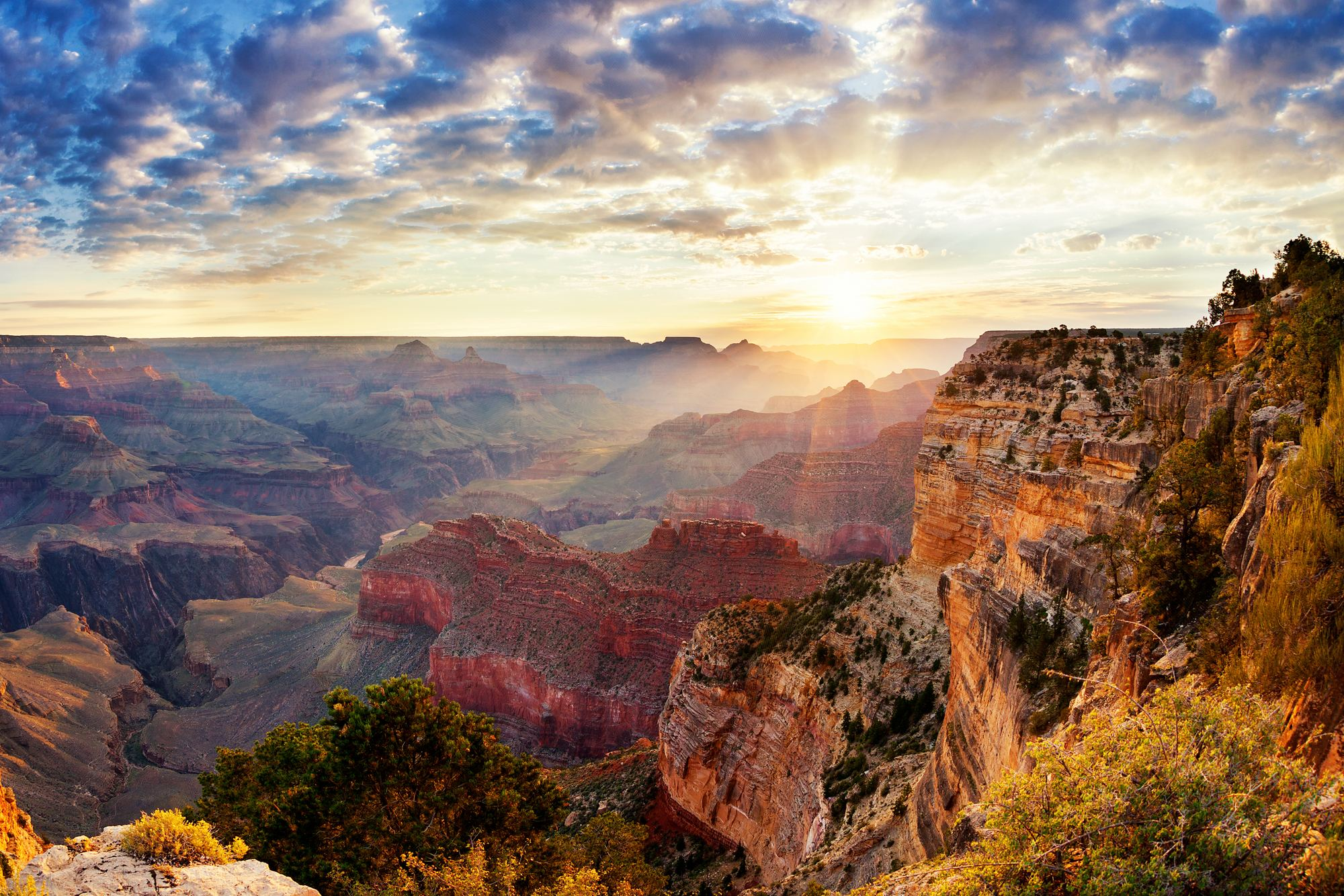 Grand Canyon Sunrise Photo